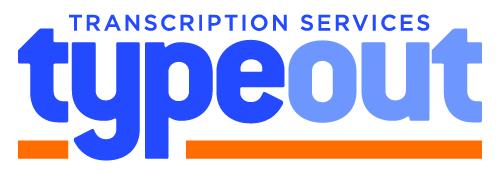 Typeout legal transcription